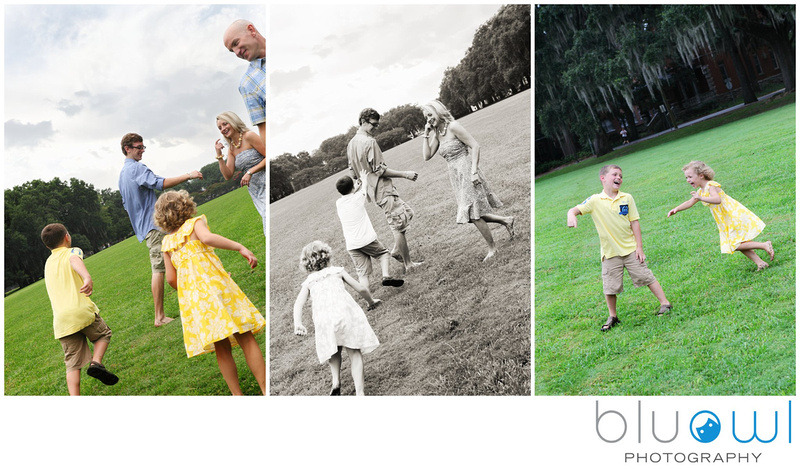 Forsyth Park Family Session