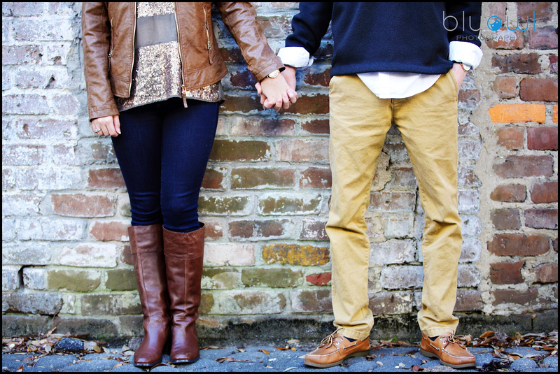 Downtown Savannah Couples session