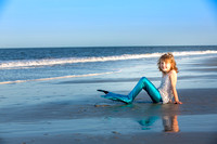 Mermaid Session Tybee Island GA Photographer