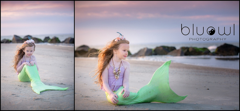 Mermaid Photography Session
