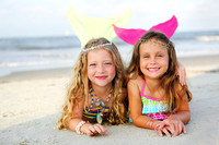 Mermaids - Lily & Katie June 2014
