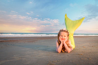 Tybee Island Mermaid Session Family Photographer