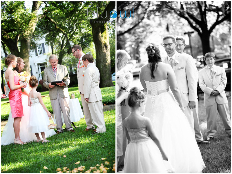 Pulaski Square Wedding