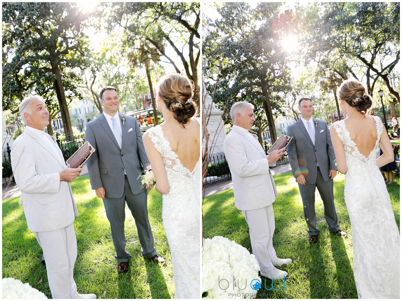 Monterey Square Wedding