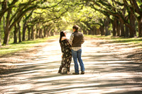 Wormsloe Proposal Savannah GA April